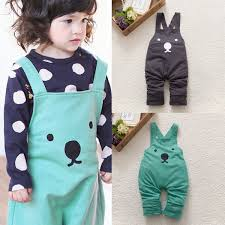 click to buy children jumpsuit overalls for 2 4