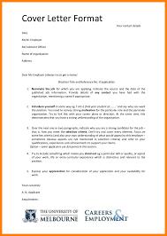 6 format of application addressing letter