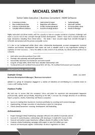 Certification On A Resume Free Resume Templates Professional Profile Template Example Of A