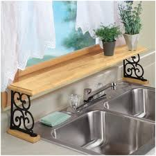 ivy over the sink kitchen shelf diy kitchen lighting upgrade led
