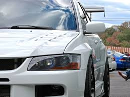 mitsubishi lancer modified stanced mitsubishi lancer evo at first class fitment mind over motor