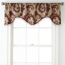 Tuscan Valance Home Expressions Tuscany Scroll Window Treatments Jcpenney