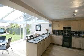kitchen diner extension ideas kitchen and conservatory extension knocked through kitchen diner