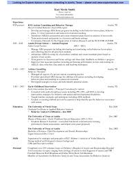 occupational therapy resume example physical therapy resume
