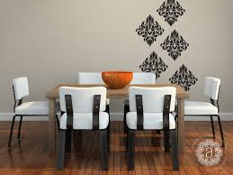 Dining Room Decals Bedroom Wall Decal Wall Decals Damask Wall Decals By