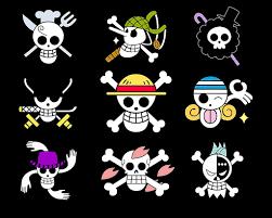 one piece character skulls art pinterest