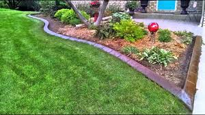 concrete landscape edging by curb creations 2014 youtube