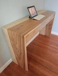 Computer Desk Hard Wood Natural Wood Computer Desk Foter