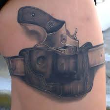 cool dark owl tattoo design