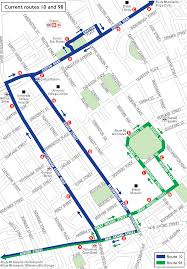 London Bus Map Bus Service Proposal Routes 7 10 And 98 Returning To Normal