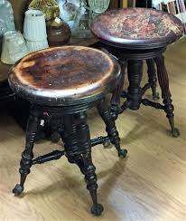 claw foot table with glass balls in the claw glass ball claw foot piano stools parkway drive antiques