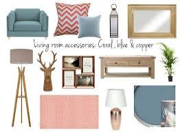 copper room decor living room accessories copper blue and coral mum in brum