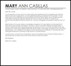 cover letters for chefs cover letter novelin campilan babate 22