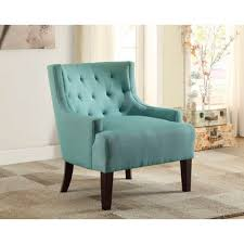 Teal Accent Chair Homelegance Dulce Accent Chair In Teal Beyond Stores