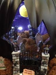 Halloween Haunted House Cake Spooky Cemetery Pumpkin For Halloween Chica And Jo