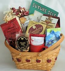 healthy gift basket apple a day get well the healthy basket