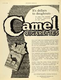 1920 ad winston salem north carolina cigarettes camel smoking