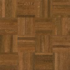 oak hardwood flooring home depot bruce natural oak parquet gunstock 5 16 in thick x 12 in wide x