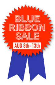 blue ribbon sale august 8th 13th savings 25 coupon
