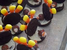 oreo thanksgiving turkeys thanksgiving black friday and happy birthday to me as we walk