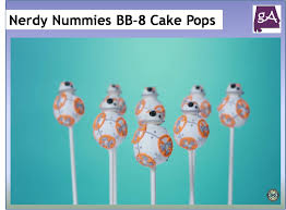 Nerdy Nummies Halloween Cakes Watch Nerdy Nummies Make Bb 8 Cake Pops U2013 Geek Alabama