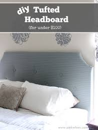 diy tufted headboard for under 100 page 2 of 2 pinkwhen