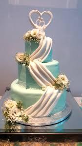 three tier swag wedding cake quality cake company