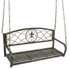 metal porch swing ebay