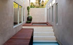blue jay way interior pool zen interior design ideas