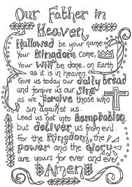 7 best images of prayer printable activity sheets printable