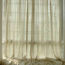 crochet tab top curtains excellent cotton linen modern for living