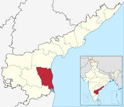 Physical Blank Map Of India by Nellore District Wikipedia
