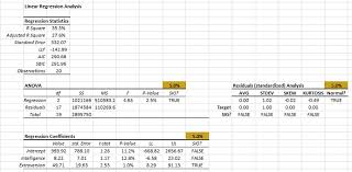tutorial xlstat stepwise regression in excel mlr tutorial numxl