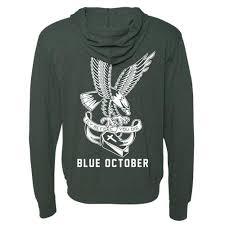 blue october fly before you die hoodie bandwear