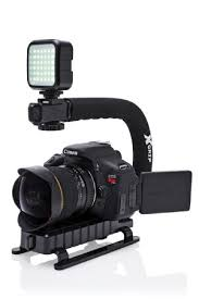 amazon com stabilizers professional video amazon com opteka x grip professional camera camcorder action