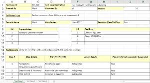 sample sap test case template