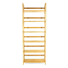 Folding Bookshelves - bookcase three tier bookshelf 3 tier bamboo stackable folding