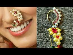 Buy Maharashtrian Traditional Nath Clip Maharashtrian Style Nath Maharashtrian Nath Design