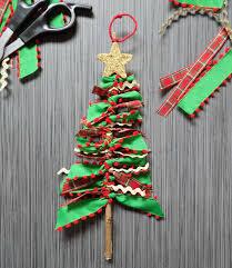 one savvy nyc area scrap ribbon tree ornaments