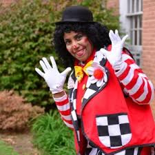 clown magician party host hire nica the magician and clown entertainer children s party