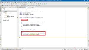 android onclick create simple click counter android application