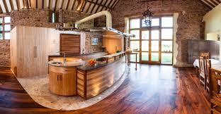 see thru kitchen blue island mdf prestige arch door walnut see thru kitchen blue island