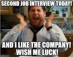 Job Interview Meme - by the time this is featured i ll be at the interview the