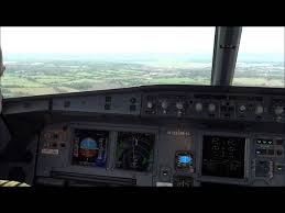 a320 cockpit take off and landing youtube