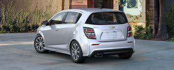 Chevrolet Sonic Interior 2018 Chevy Sonic Small Car Gm Fleet