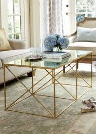 gold and glass coffee table mitchell gold coffee table images table design ideas