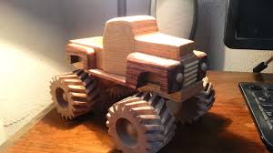 Plans For Wood Toy Trucks by Wooden Toy 1948 Ford Monster Truck Youtube