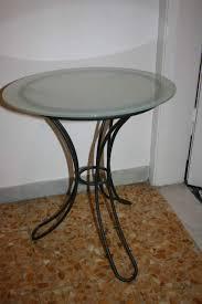 comodini in cristallo coppia tavolini comodini in ferro e vetro a lerma kijiji
