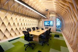 Conference Room Decor Cozy Contemporary Office Space With Indoor Green Attractive