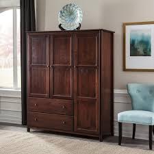 Door Armoire Shaker 3 Door Wardrobe U2013 Grain Wood Furniture